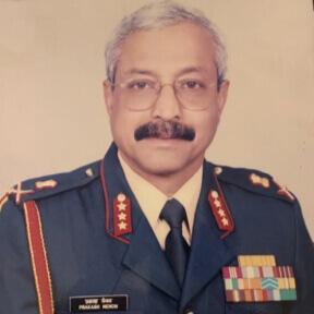 Lt Gen Prakash Menon