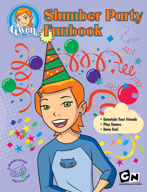 Slumber Party Funbook