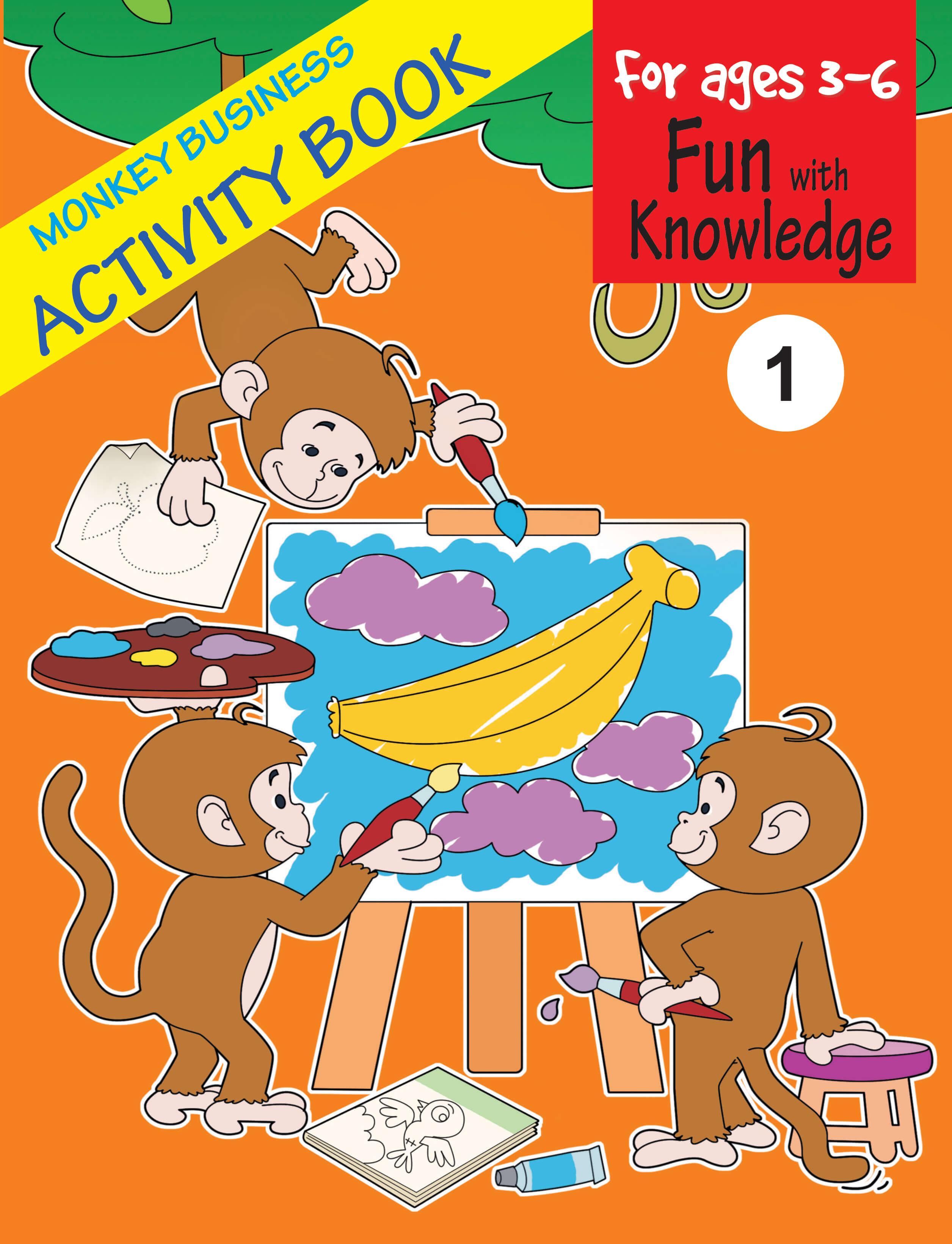 Monkey Business Activity Book 1