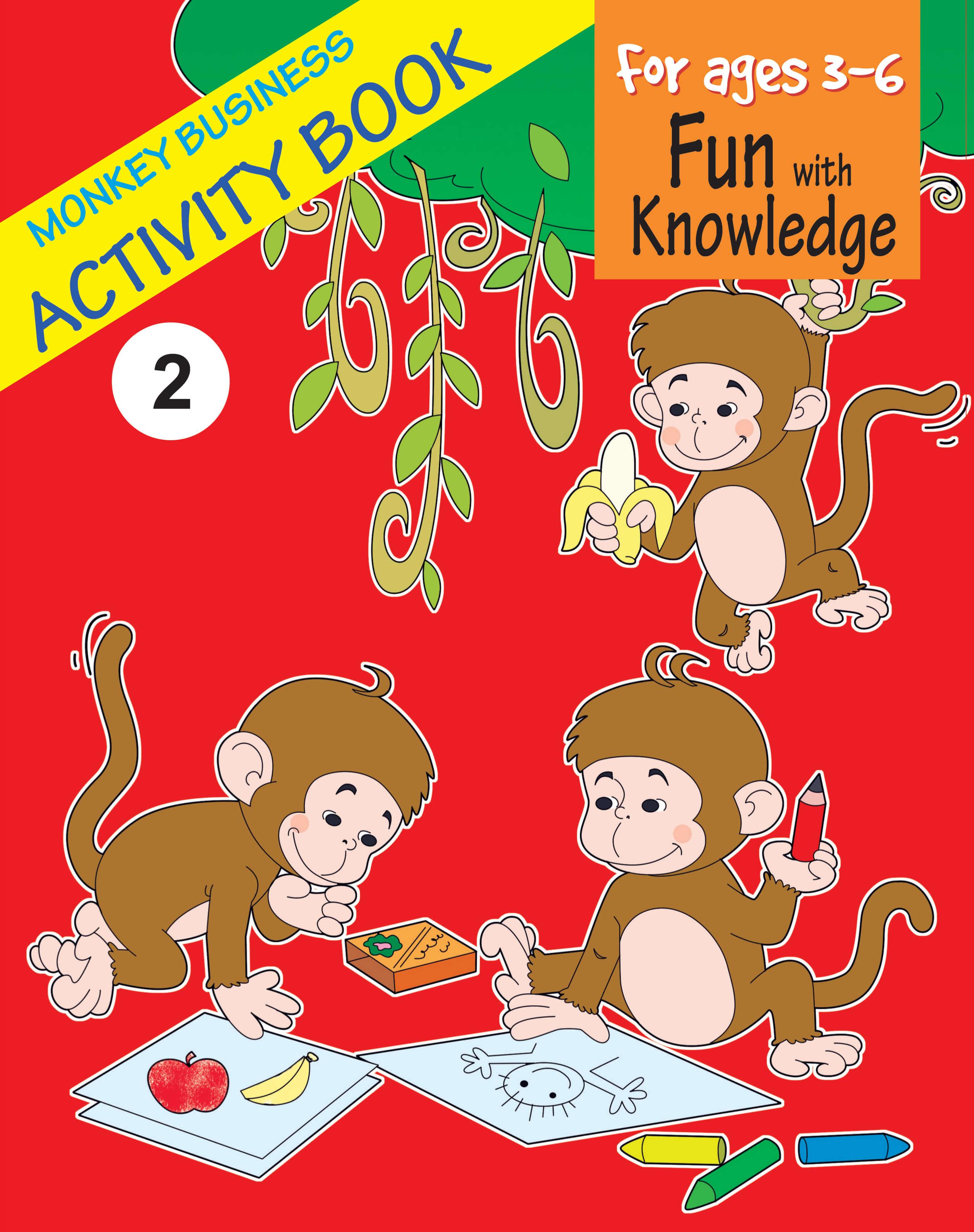 Monkey Business Activity Book 2