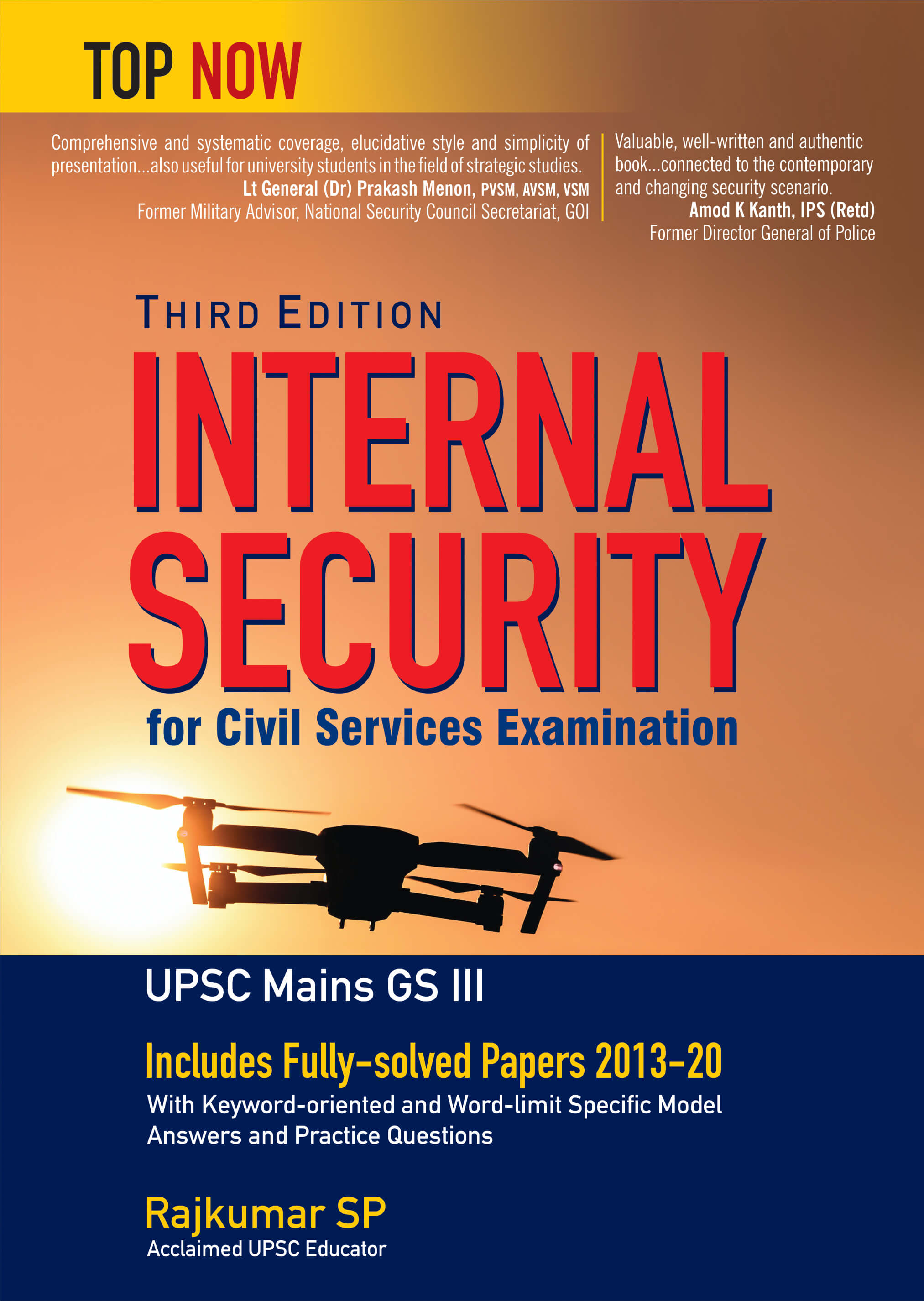 Internal Security For Civil Services Examination Third Edition: Includes Fully-Solved Papers 2013-20 (Top Now)